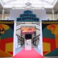 """Deux visites de l'exposition """"NOS CINÉMAS DE QUARTIER"""" en présence de l'équipe de Paris-Louxor et des intervenants, témoins etc."""