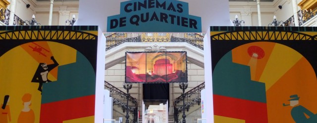 Deux visites de l&#039;exposition &quot;NOS CINMAS DE QUARTIER&quot; en prsence de l&#039;quipe de Paris-Louxor et des intervenants, tmoins etc. 