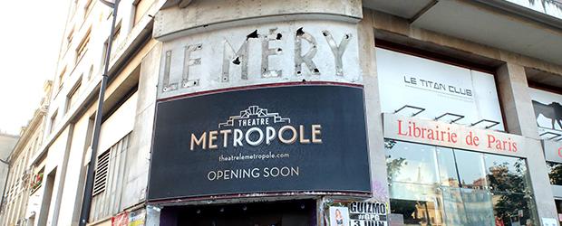 Alors que la renaissance de l'ancien cinéma, puis salle de spectacle, Le Méry était attendue en théâtre Le Métropole... c'est finalement...