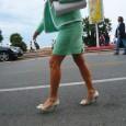 À Cannes, les talons sont plus qu'un signe extérieur d'élégance ; ils relèvent d'une prise de risque quotidienne ...
