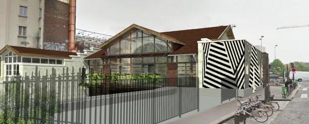 L'ancienne Gare Ornano dans le 18e devient la REcyclerie, un lieu de vie hybride et pluridisciplinaire qui ouvrira en mai.
